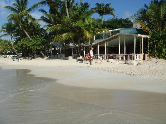 Siboney Beach Club: The beach and restaurant
