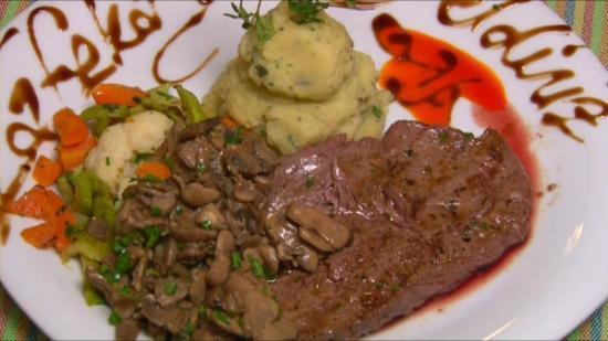 Cafeka : grilled steak/ızgara bonfile