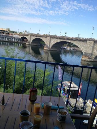 London Bridge Resort: Blick von der Frühstücksterrasse