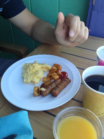 London Bridge Resort: Frühstück