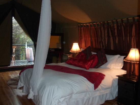 Chandelier Game Lodge & Ostrich Show Farm: Our Tent