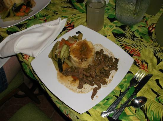 Belize Jungle Dome: One of the many incredible dinners