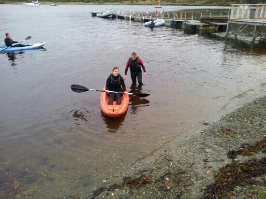 Craobh Haven Watersports: Sea kayaking