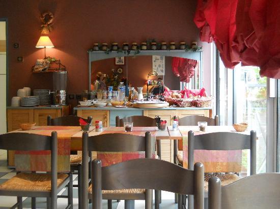 Hotel La Nonette : La sala colazioni