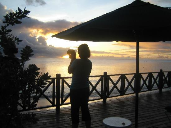 The Sandpiper: Sunset from Sundeck