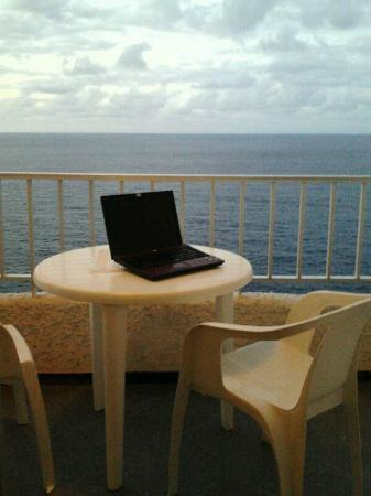 Bellavista : Balcón frente al océano