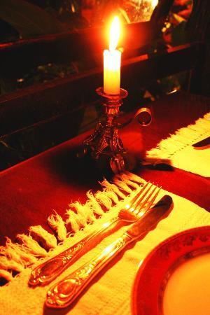 Voila Bistrot: A luz de velas...