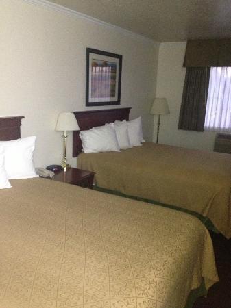 Best Western Salinas Monterey Hotel: Doppelzimmer