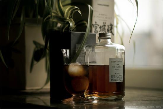 Nikka Whisky Sendai Factory Miyagikyo Distillery: Nikka from the barrel