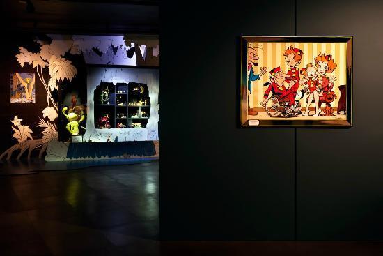 Moof Musée de la Bande dessinée et des Figurines : Hommage à Franquin
