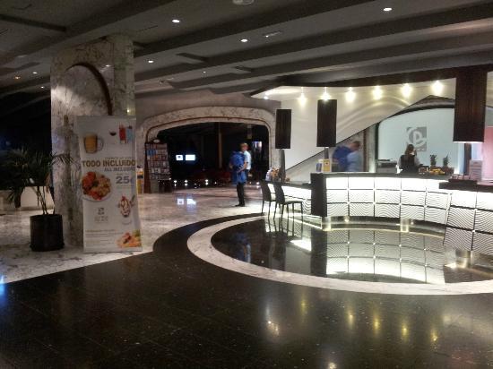 Gloria Palace San Agustin Thalasso & Hotel: Reception