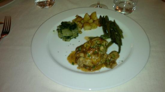 Corte Quadri: Filetto ai porcini e Monteveronese