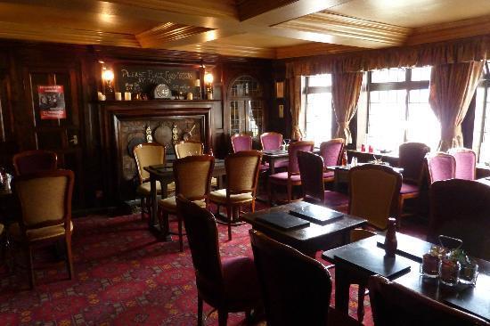 Black Swan Inn: Dining room at the Black Swan