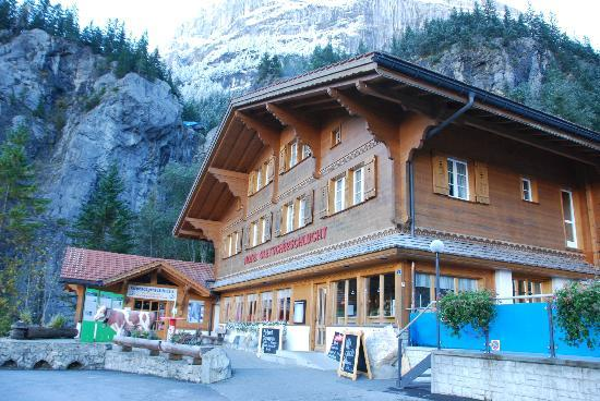 Gletscherschlucht: the hotel