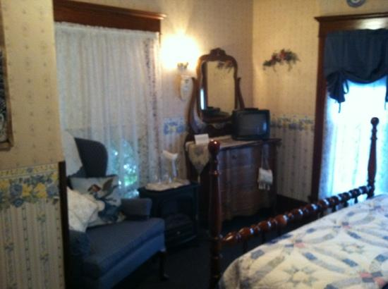 The Marmalade Cat Bed & Breakfast: Blue room