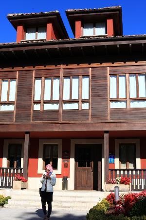 Hosteria de Torazo: Entrance