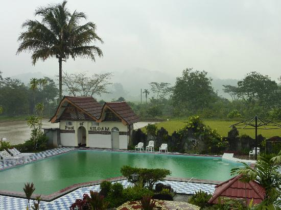 View From The Hotel Picture Of Toraja Heritage Hotel Rantepao