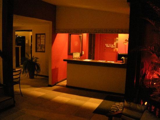 Pousada Villegaignon: La recepción del hotel