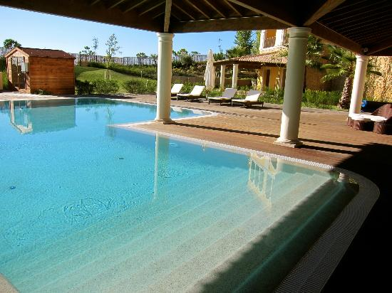 Cascade Wellness & Lifestyle Resort: Spa pool (there are a few others)