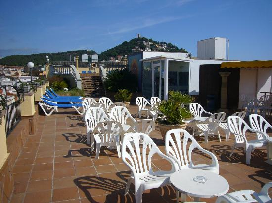 Costa Brava Hotel: zona solarium