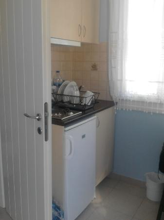 Blue Harmony Apartments: kitchen area
