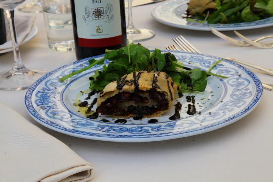 Villa di Piazzano: Lunch