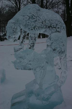 Helsinki Zoo: Art meets Ice