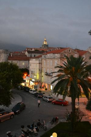 Korcula Royal Apartments : View from our room