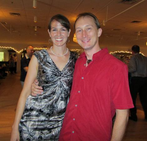 Gulfport Casino Ballroom: Met a very sweet couple