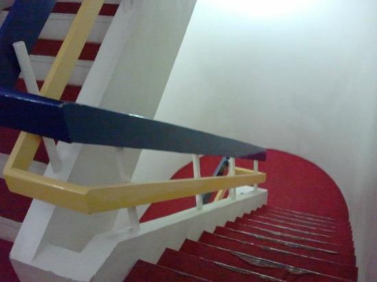 Hotel Bhooshan : Staircase