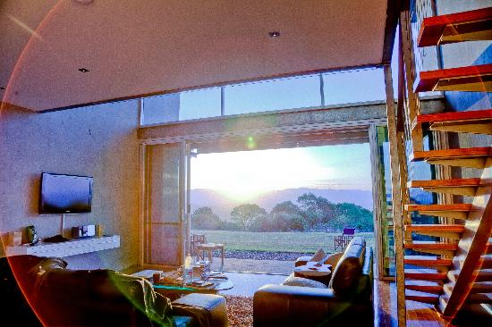 The Bunyip Scenic Rim Resort: View from the living room in our apartment