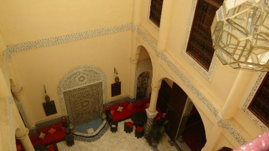 Riad Ibn Battouta : Le patio
