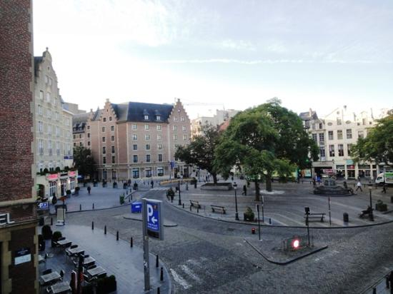 La Madeleine Grand Place Brussels : Hotel Le Madeleine - 部屋からの景色