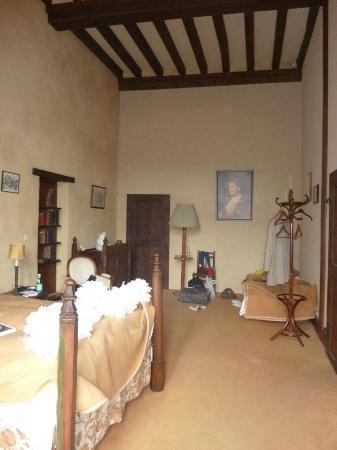 Château de Chanzé : Une des chambres du chateau