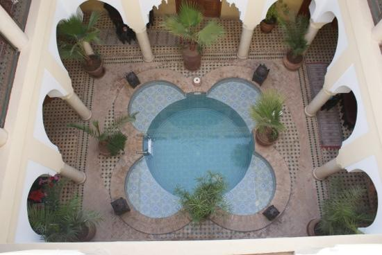 Riad Lena & SPA: tres agreable moments de detente dans la piscine