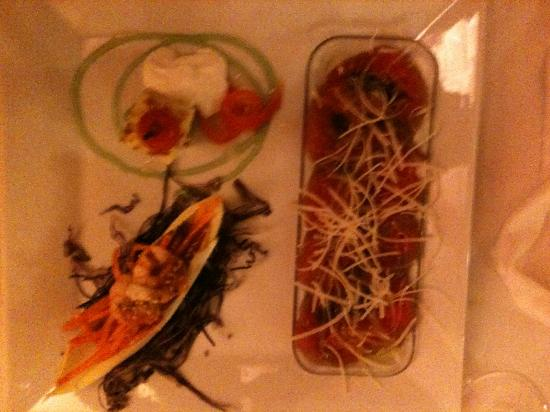 Es Coll d'Os: trio of starters