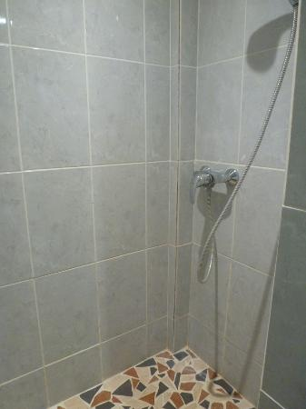 Hotel Les Colombes : Shower