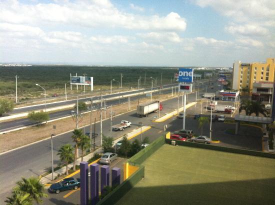 Crowne Plaza Hotel Monterrey Aeropuerto: Vista dalla camera