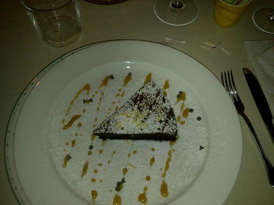 Ristorante Al Vecchio Forno : torta al cioccolato
