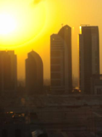 InterContinental Abu Dhabi: Sun Rise Shot