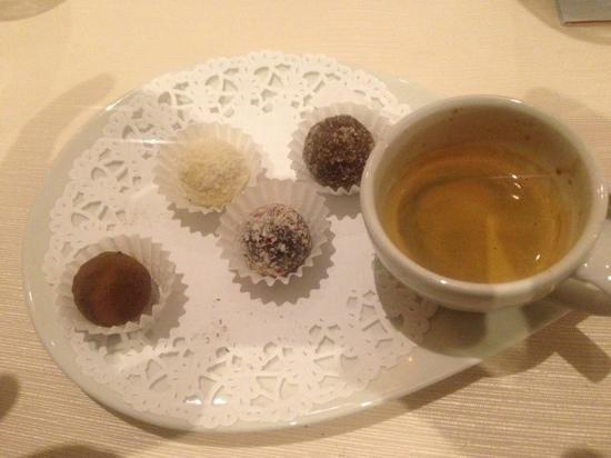 Esplanade: truffles