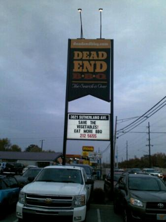 Dead End BBQ: great place to eat!