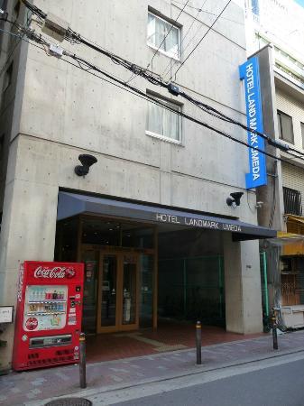 Hotel Landmark Umeda: Hotel entrance