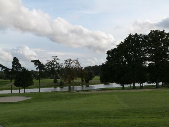 Stoke Park Country Club, Spa and Hotel: One of the water bodies