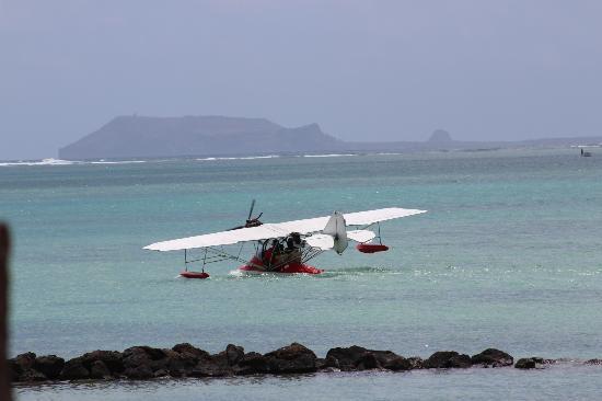 LUX* Grand Gaube: Seaplane