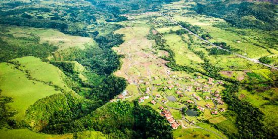 Hacienda Los Molinos Boutique Hotel: Vista del Cañon de Cochea