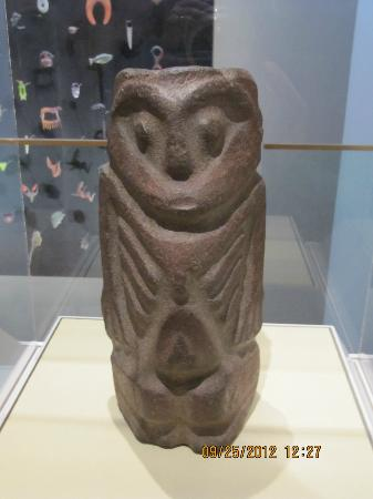 Portland Art Museum : Anthropomorphic Figure, pre-contact Native American, Colombia River