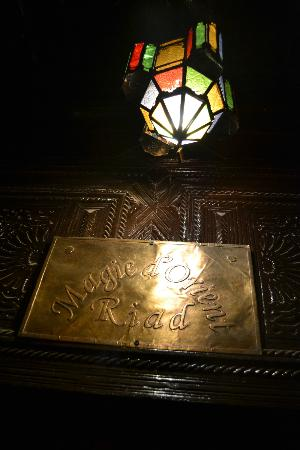 Riad Magie D'Orient: The entrance to the riad