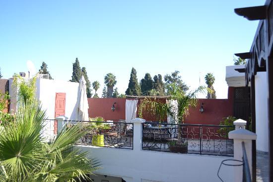 Riad Magie D'Orient : The beautiful terrace
