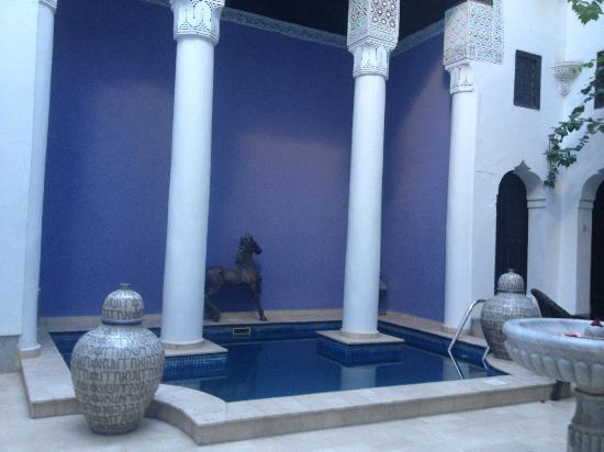 Riad Magie D'Orient: The plunge pool 